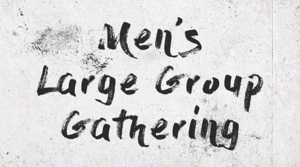 Men's Large Group | 12/9