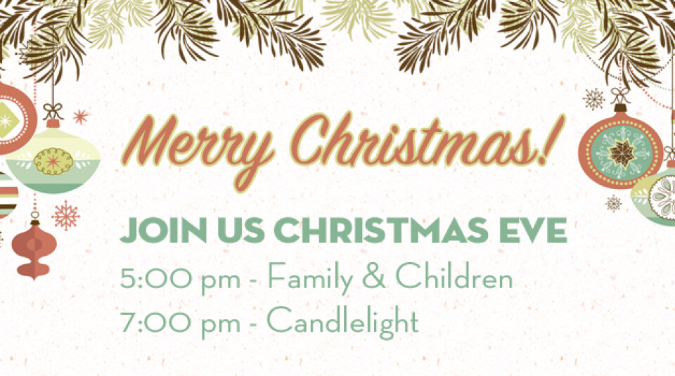 Christmas Eve Services 2017