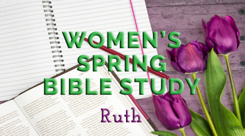 2018 Women's Spring Bible Study Monday Evenings