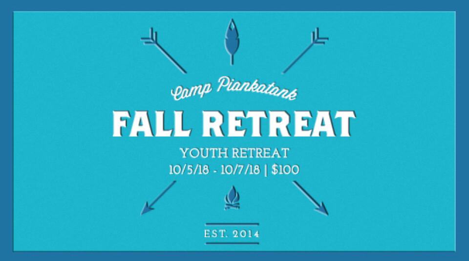 18 Fall Youth Retreat