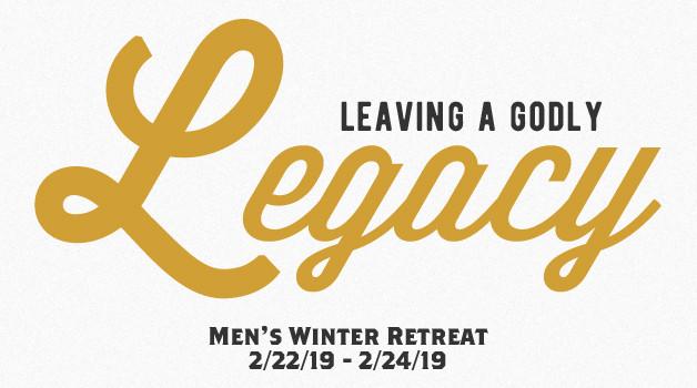 2019 Men's Winter Retreat