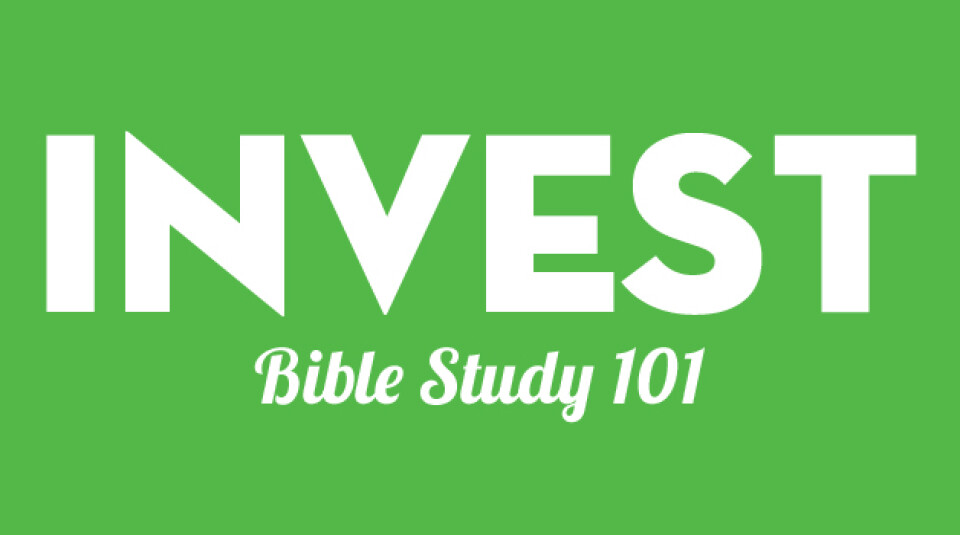 INVEST | Bible Study 101