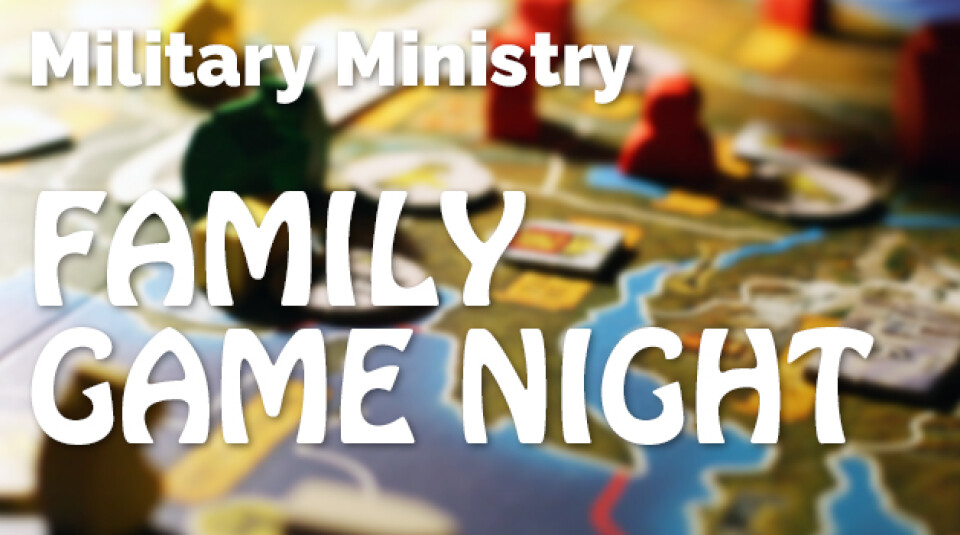 Military Family Game Night