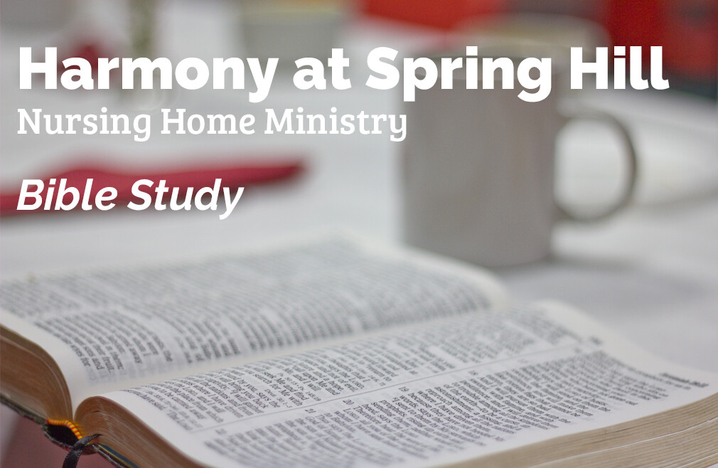Harmony at Spring Hill Bible Study